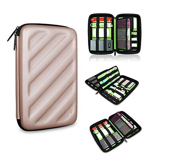 Protective portable battery charger case battery hard box tool case